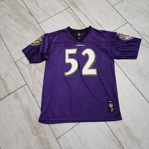 4c282737 Reebok #52 Ray Lewis Baltimore Ravens Jersey